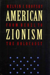 American Zionism eBook cover